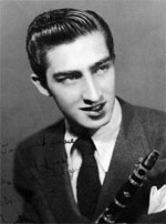 Buddy DeFranco early promo photo